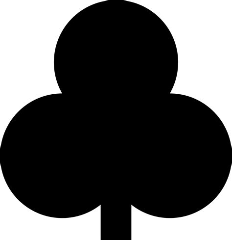 card clubs clipart ancient clubs card symbol