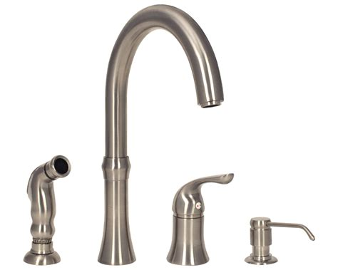 nickel faucets kitchen sink faucet design brushed nickel 4 kitchen faucets