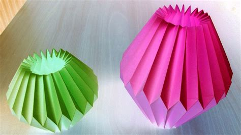 paper crafts for decorations home decor paper crafts for light bulb by srujanatv