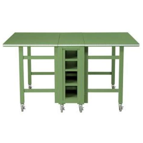 home depot craft for martha stewart living craft space 6 ft collapsible wood