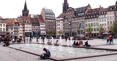 strasbourg place kleber 67 diluvial fontainerie water feature design designers