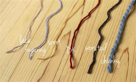different types of finger knitting knitting 101 yarn types and weights aroha knits