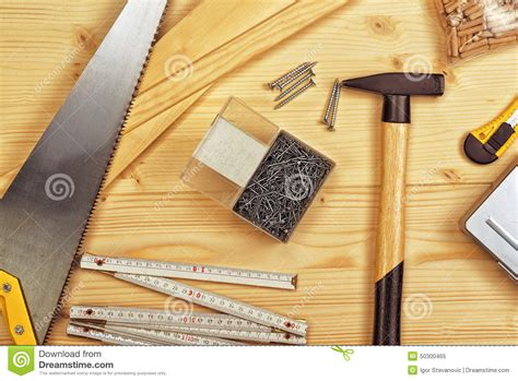 the of woodworking assorted woodwork and carpentry or construction tools
