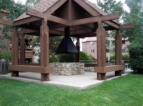 swing pit gazebo with swings and pit pit design ideas