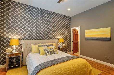 Red And Gray Bedroom Ideas cheerful sophistication 25 elegant gray and yellow bedrooms