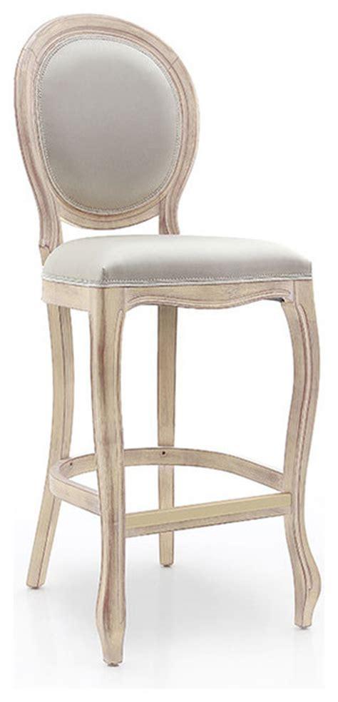shabby chic stools louis style oval back bar stool shabby chic bar