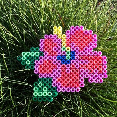 perler bead flower designs 17 best images about flowers perler on