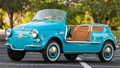 Fiat 500 Jolly by Fiat 500 Jolly La Spiaggina Dei Vip Quartamarcia