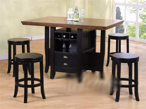 bar height tables for kitchens kitchen counter height kitchen tables with storage