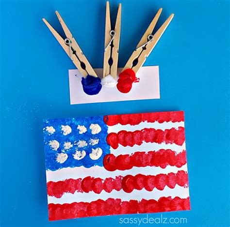flag crafts for diy patriotic crafts and decorations for 4th of july or