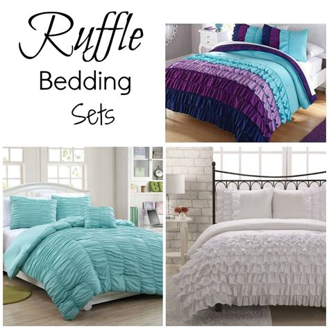 ruffle bedding sets bedding decor ideas modern and chic bedding for your