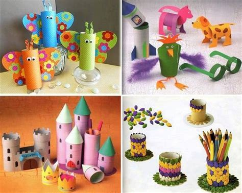 paper roll crafts for preschoolers recycled toilet paper rolls kid crafts recycled things