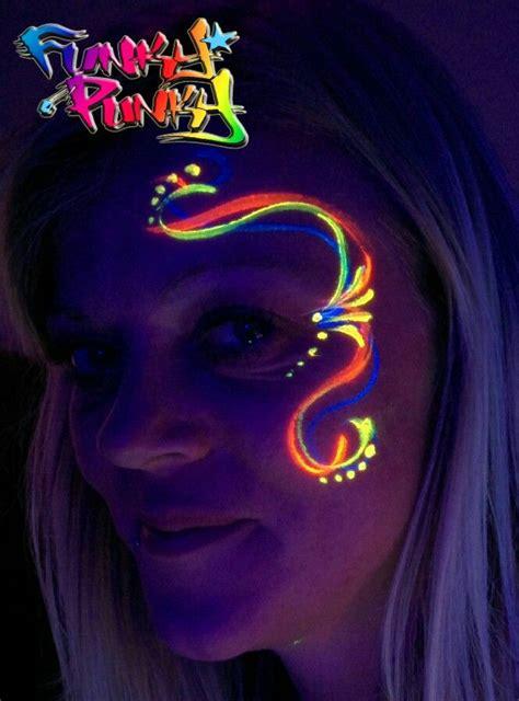 glow in the paint makeup best 25 neon paint ideas on glow