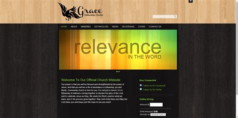 woodwork websites 30 best church website templates for ministry and outreach