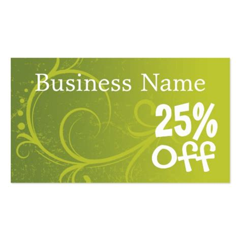 how to make discount cards discount coupon retail template business cards zazzle