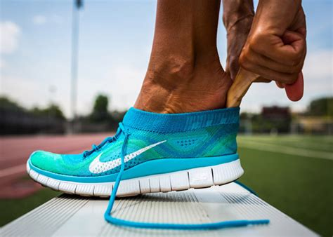 Nike Flyknit Free Free Hyperfeel Knitted Shoes Running