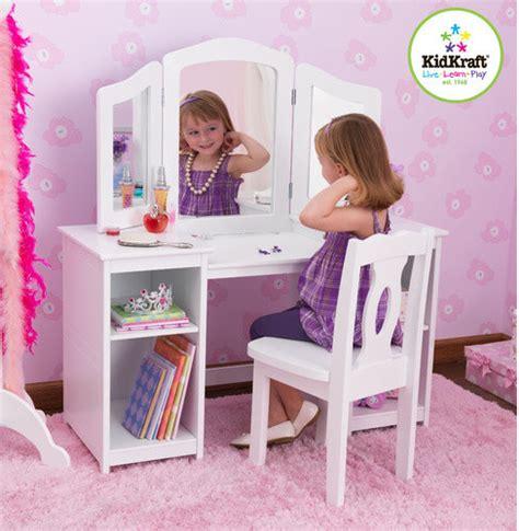kid craft vanity deluxe vanity and chair modern bedroom vanities
