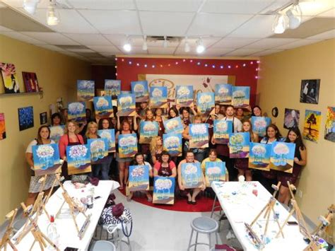 paint with a twist las vegas happy hydrangeas