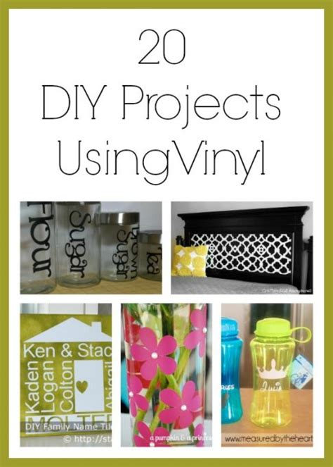 vinyl craft projects 20 diy projects using vinyl