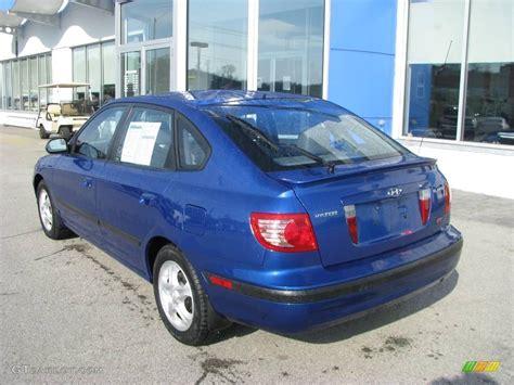 2005 Hyundai Elantra Gt by 2005 Tidal Wave Blue Hyundai Elantra Gt Hatchback 8191442