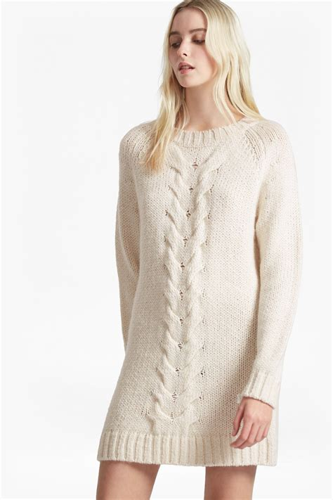 cable knit dress high ridge cable knit jumper dress collections