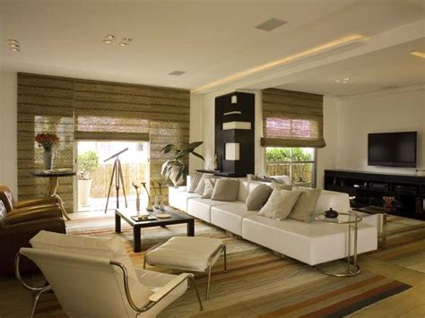 Decorative Screens For Living Rooms chic and zen modern living room