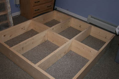 how to make a platform bed frame with drawers how to build a platform bed my family it