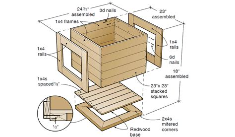 plans woodworking plans petaluma planter plans free woodwork city free