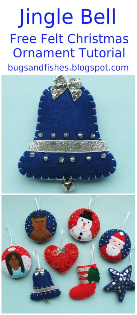 ornaments tutorials bugs and fishes by lupin ornament tutorial sew