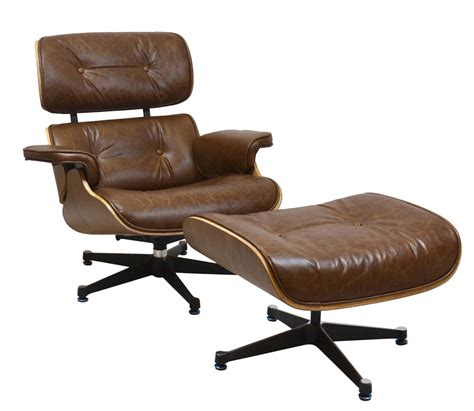 reproduction eames chair charles eames style reproduction lounge chair ottoman by