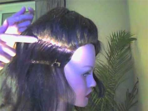 what hair is used for braidless sew in braidless sew in part 1 youtube