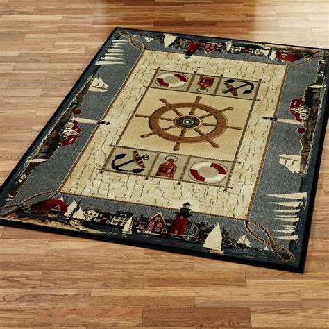 nautical rugs nautical rugs make your home a house