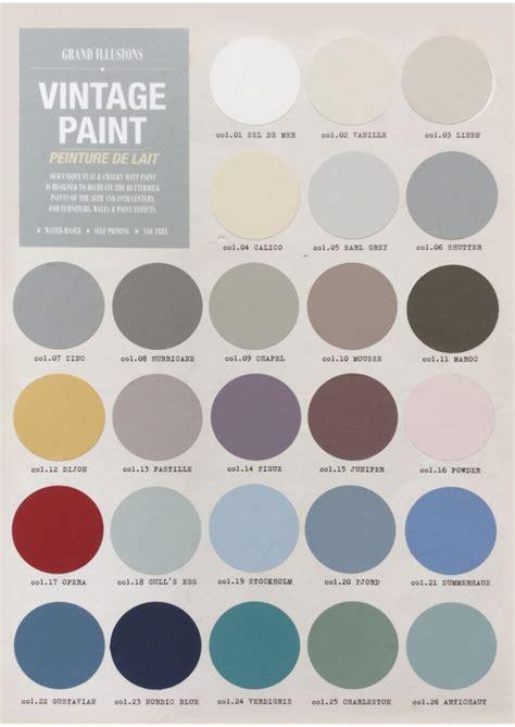 chalk paint colours canada new chalk paints the home