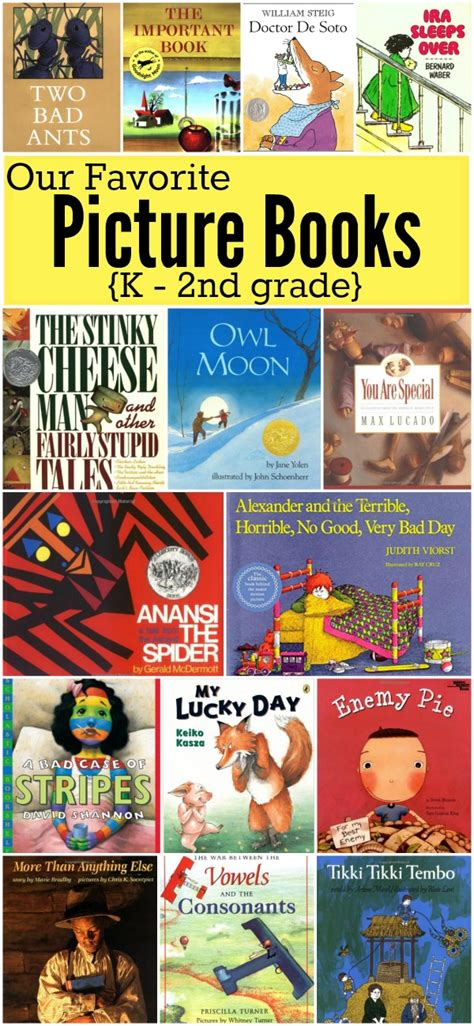 favorite picture books favorite picture books for k 2nd grade