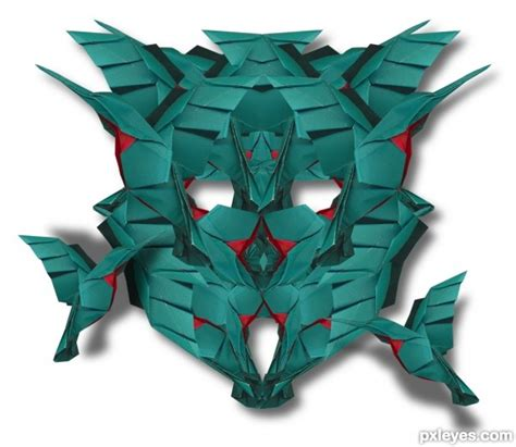 origami transformer transformer bird picture by wooyuenfoo for bird