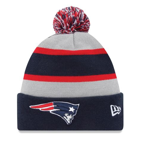 patriots knit hats new patriots nfl official sideline knit hat