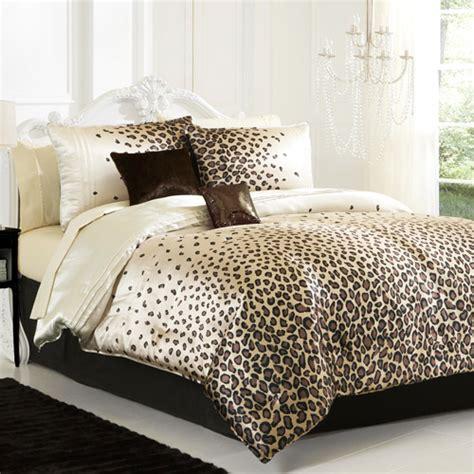 animal comforter set leopard bedding