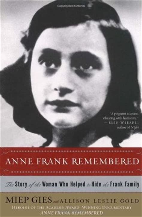 a picture book of frank frank remembered by miep gies reviews discussion