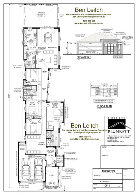 home plans for narrow lot narrow lot house plans home design ideas