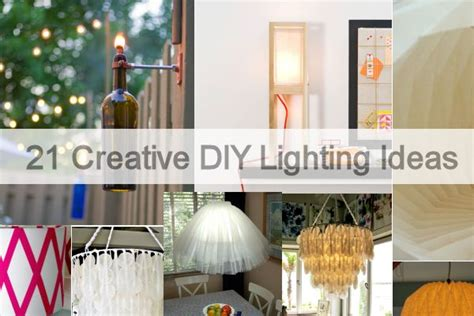 diy home lighting design 21 creative diy lighting ideas