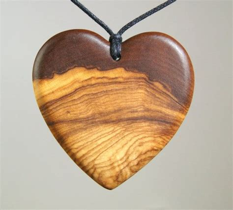 wood jewelry olive wood pendant wood jewelry