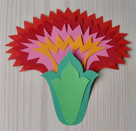 paper cutting flowers crafts wycinanki on folk and paper