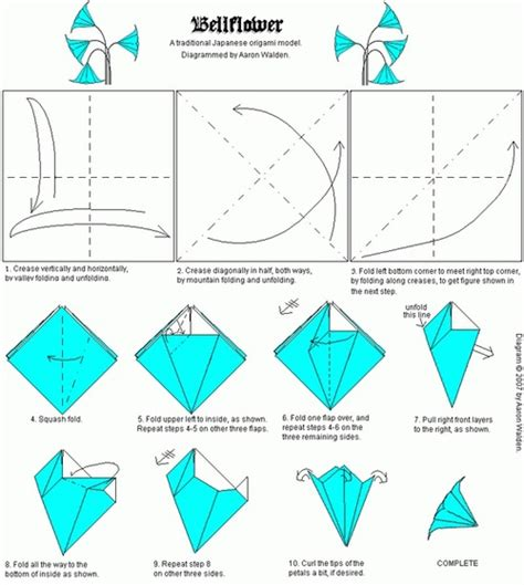 most popular origami origami bellflower folding origami