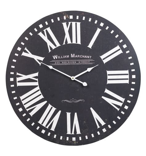 shabby chic large wall clocks shabby chic large wall clock 60cm 300577