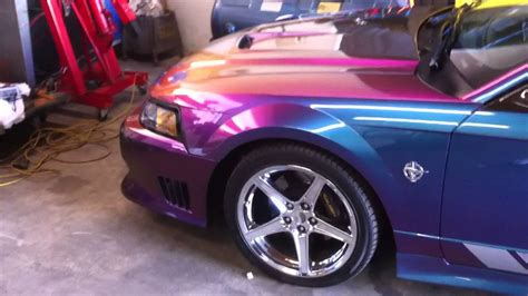 1999 Saleen Mustang S351 Color Changing Youtube