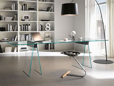 glass modern desk nella vetrina tonelli kasteel modern italian glass desk