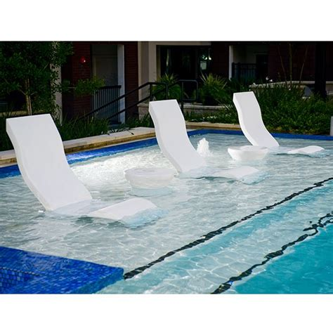 Water Chair by Chair Ledge Lounger Outdoor Pool Patio