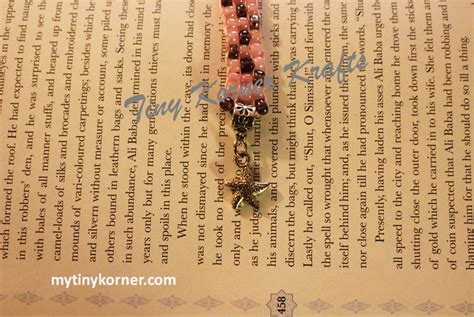 the four agreements beaded bookmark beaded bookmark brown pink w fish charm my tiny korner