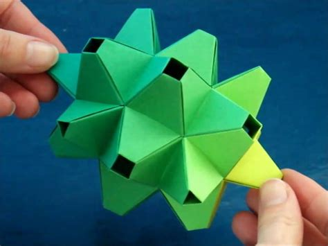 modular origami origami modular durian dutchpapergirl