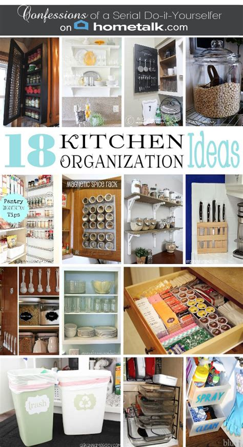 diy kitchen organization ideas diy spice cabinet and 17 more kitchen organization ideas